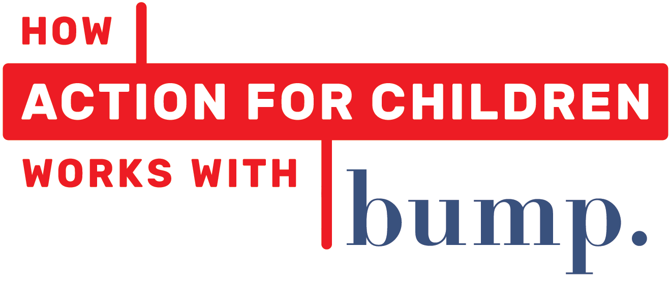 Action for Children working with Bump.