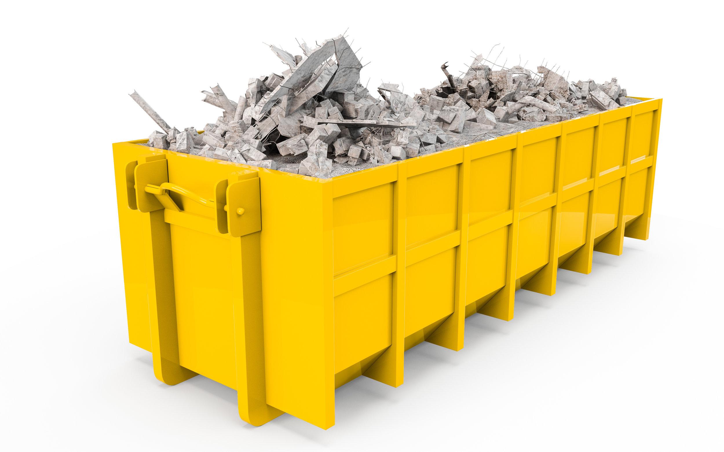 Steel Dumpster