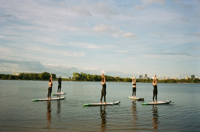 What is SUP Yoga? - SUP Yoga combines traditional yoga practice with nature and adventure, to deliver a dynamic and peaceful experience on the water.The many wonderful benefits of yoga are enhanced when fused with SUP. Yoga when performed on top of the water, increases core stability, improves balance and provides a whole body work out.Our SUP Yoga classes utilise the beautiful Swan River, in Perth Western Australia.Our anchored boards provide participants with safe and sturdy platforms as we flow through an infusion of pranayama (breathing techniques), asana (postures) and relaxation.Whether you are a paddle boarder, a yogi or neither, SUP Yoga will cater for all.