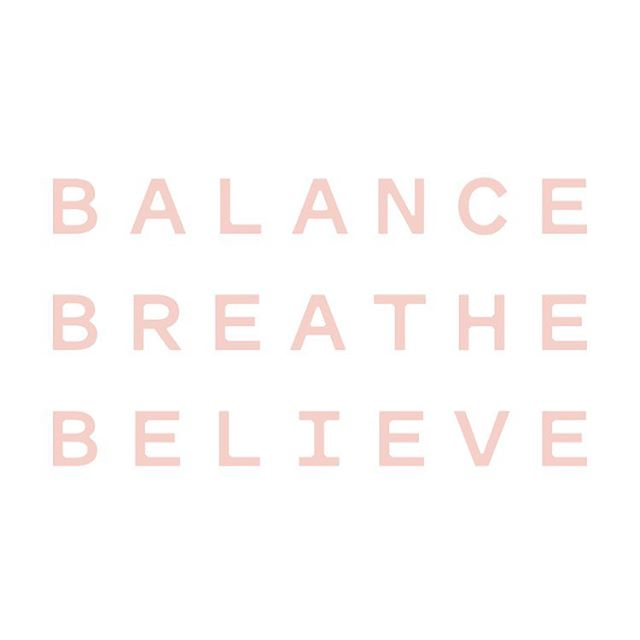 Be Yoga was formed on these three principles. With these three B's we can achieve almost anything 💫