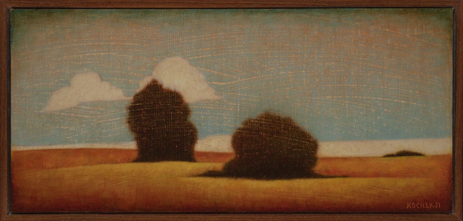 "Companion - oil on canvas - 15x7"" - TAG Gallery"