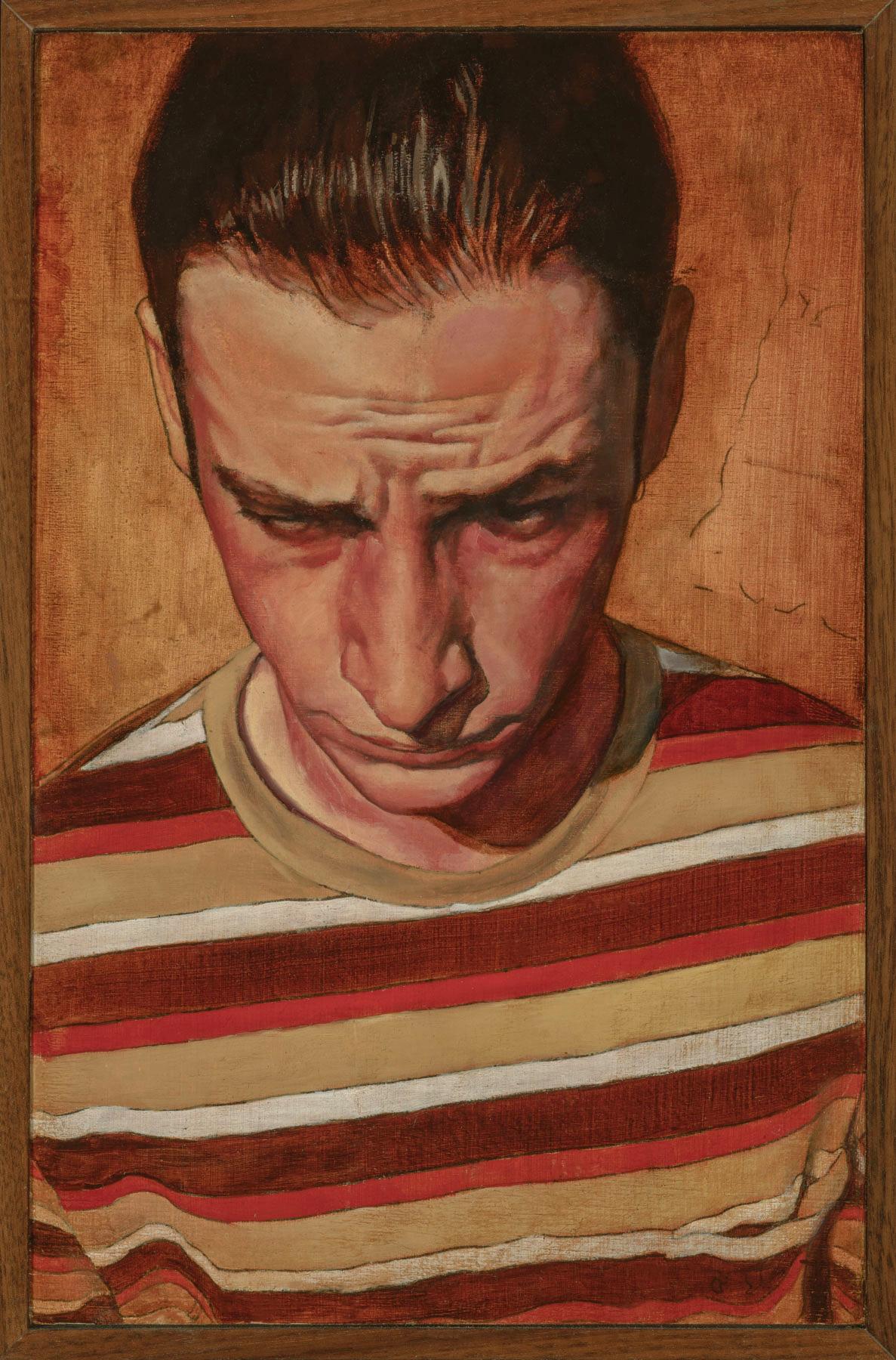 "Self Portrait - oil on panel - 6.75x10.5"""