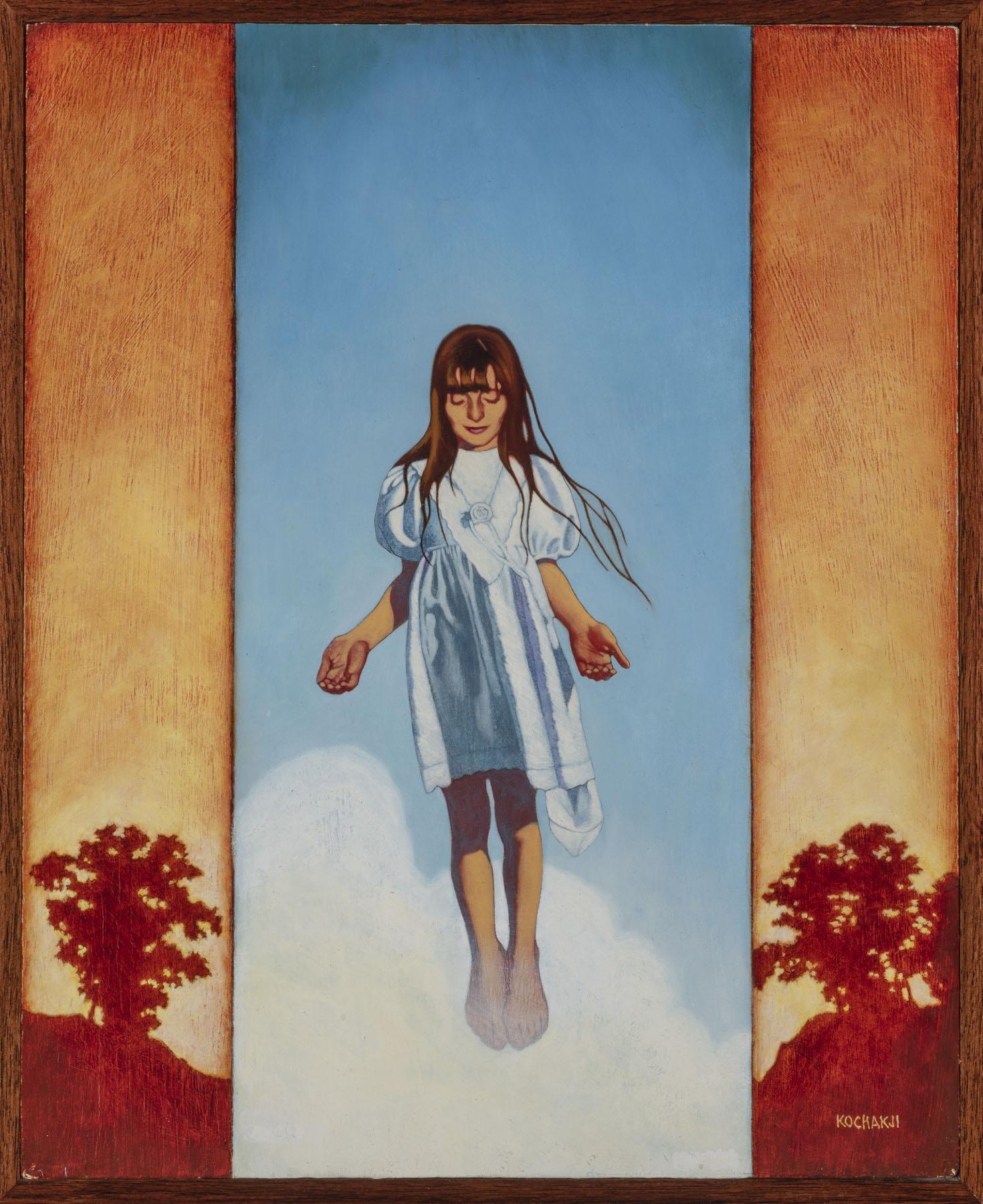 "The Healing - oil on panel - 11x13.5"" - Glendale Publishing"