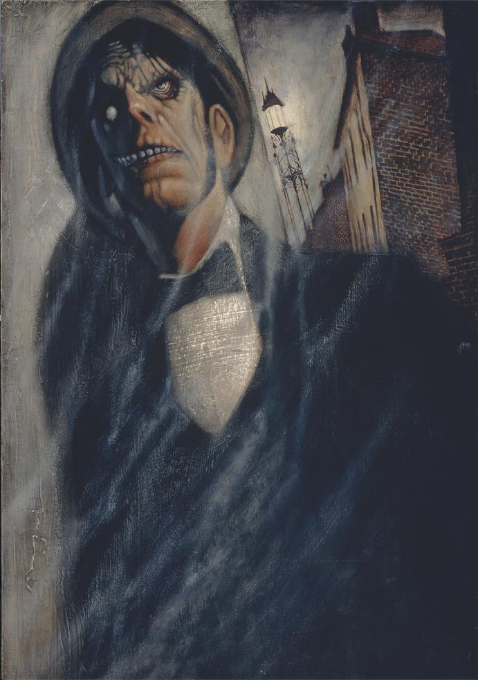 "Mr. Hyde - oil on panel - 18x24"" - Society of Illustrators 35"