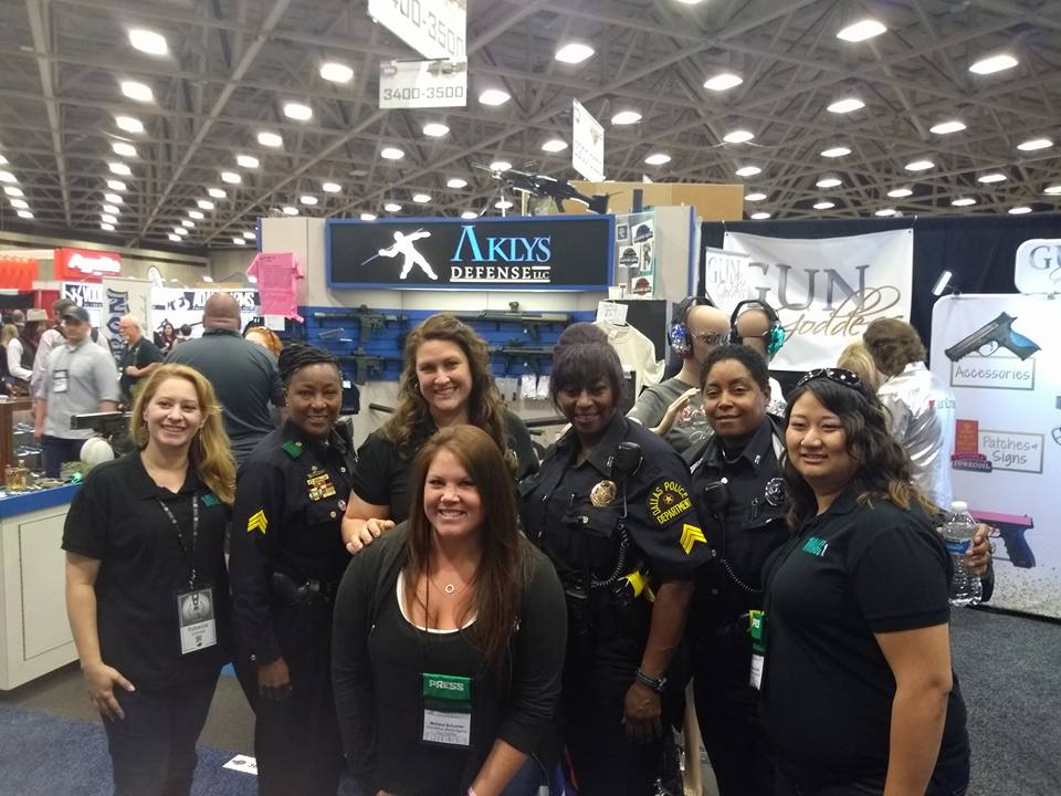 With a few of Dallas' finest during NRAAM Dallas 2018