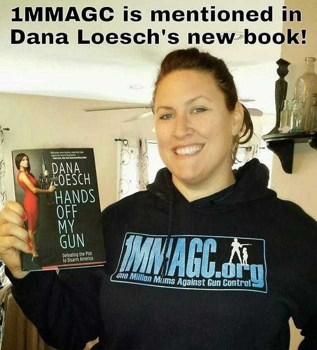 Dana Loesch mentions 1MMAGC in her book Hands Off My Gun