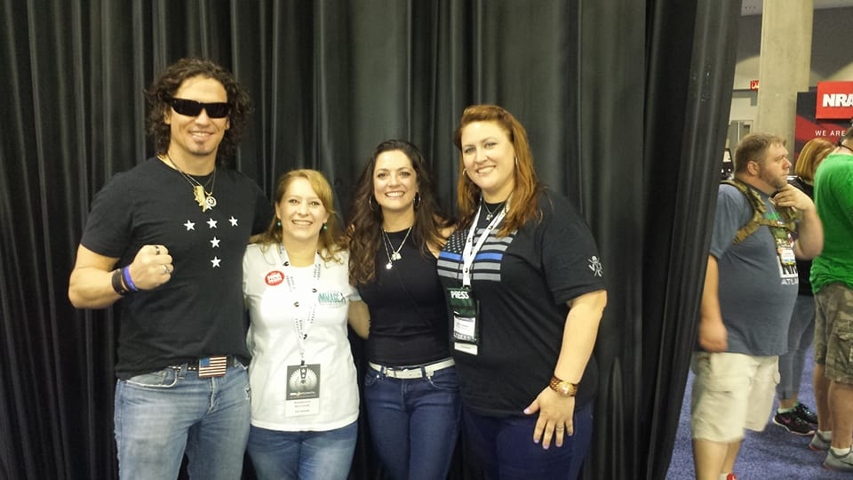 Rebecca Schmoe and Mary Callison had the chance to  meet up with Dave Bray and his wonderful wife Becky NRAAM 2015. Dave's patriotism and love for his country inspires his music. If you have not had the chance to listen to his music, take the time to do so!