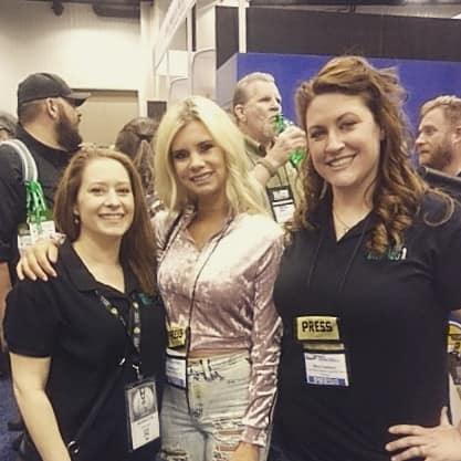 Rebecca Schmoe and Mary Callison had a great chat with Brickell Clark aka American Gun Chic. . She is empowering young ladies and women to be #prepared2protect. Stop by her page and check out all the great things she is up to!