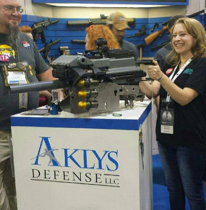 We have lots of gun family, but we hold the Aklys guys near and dear to our hearts. They hail from Louisiana and have some extremely fun items. head over to their site and check them out!  Aklysdefense.com