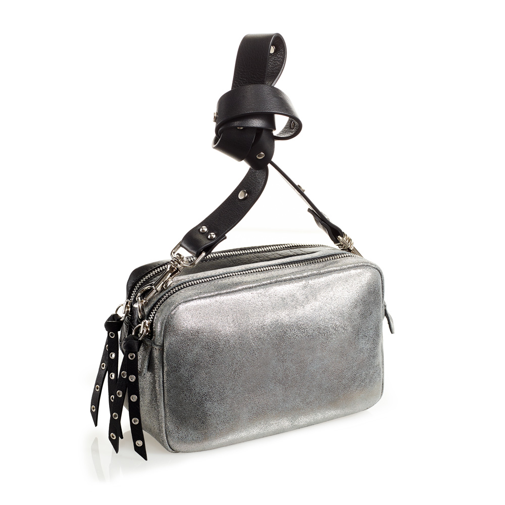 Lulu Bag col. silver-black
