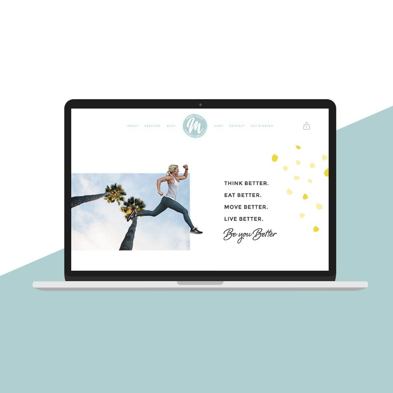 Love is Creative - Train with Amanda Mason Website