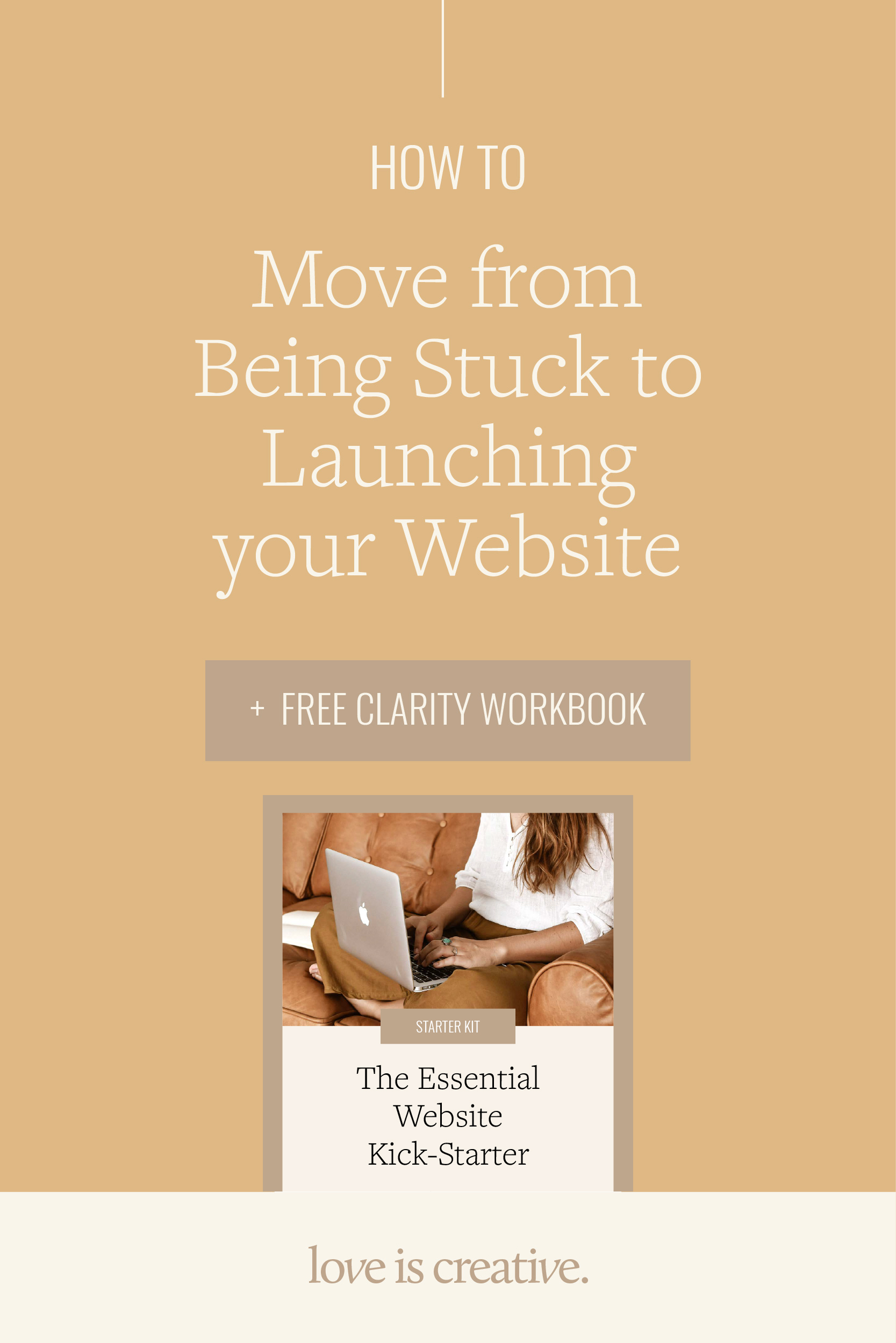 How to Move from Being Stuck to Launching your Website