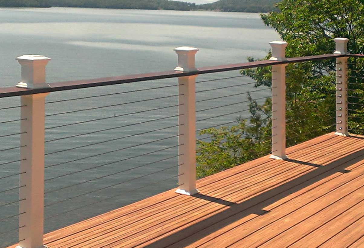 Picture of: Deck Railing Wire And Hardware Cumberland Sales Company