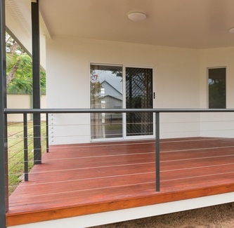 Stainless Steel Deck Railing