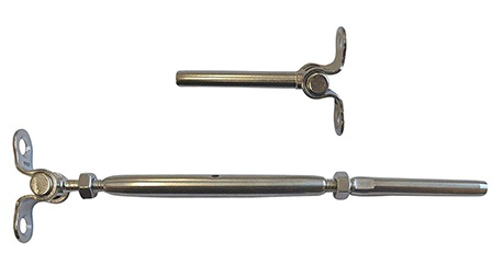 Stainless Turnbuckle With Toggle For Deck Railing