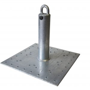 """12"""" Post Anchor for Wood, Steel, and Concrete"""