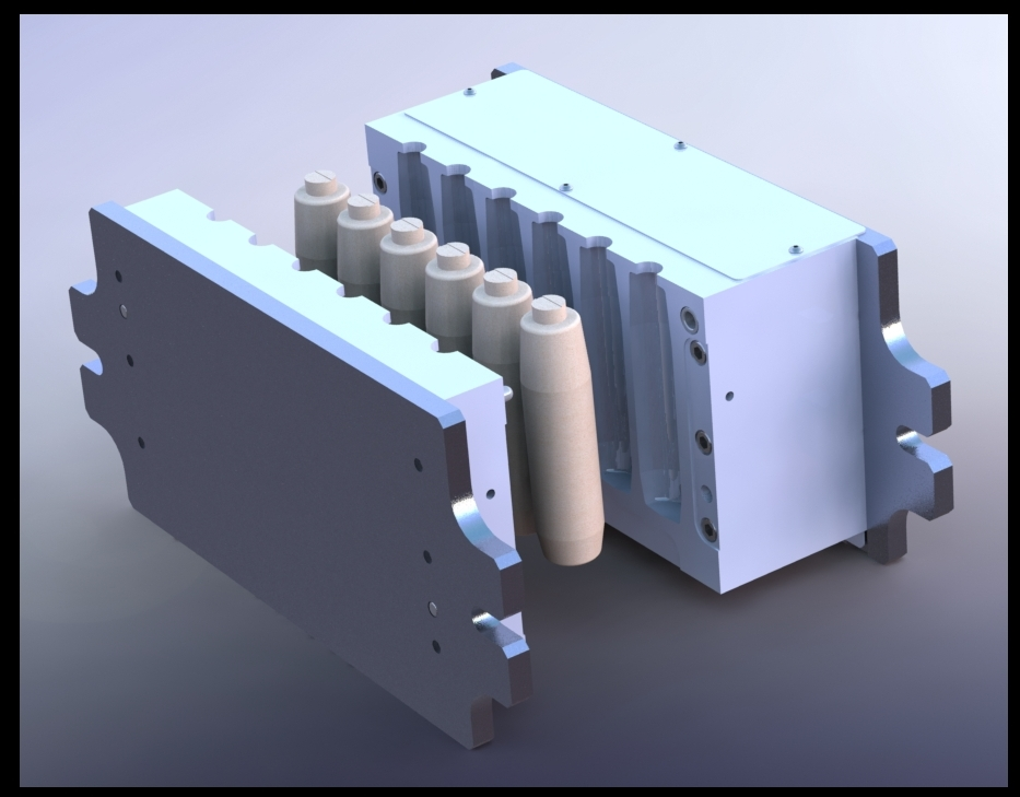 image of a core box that has been modeled.JPG