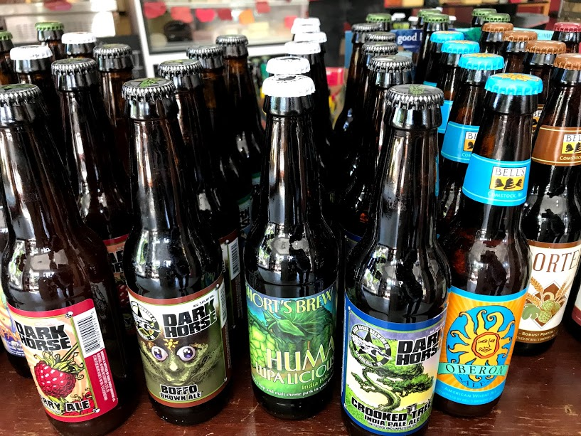 Local craft beers to mix and match.
