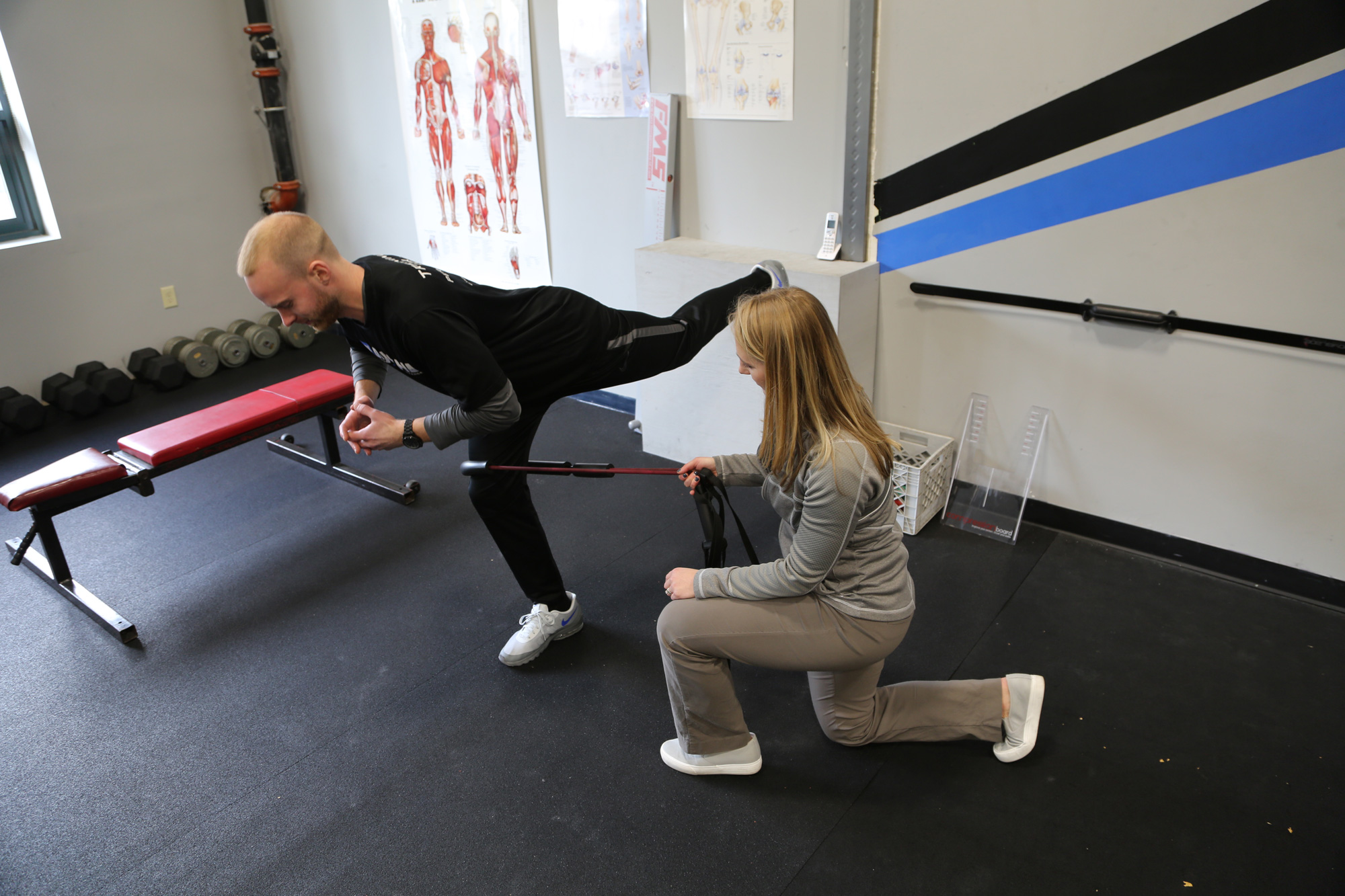 Restore Physical Therapy One on One in Gym