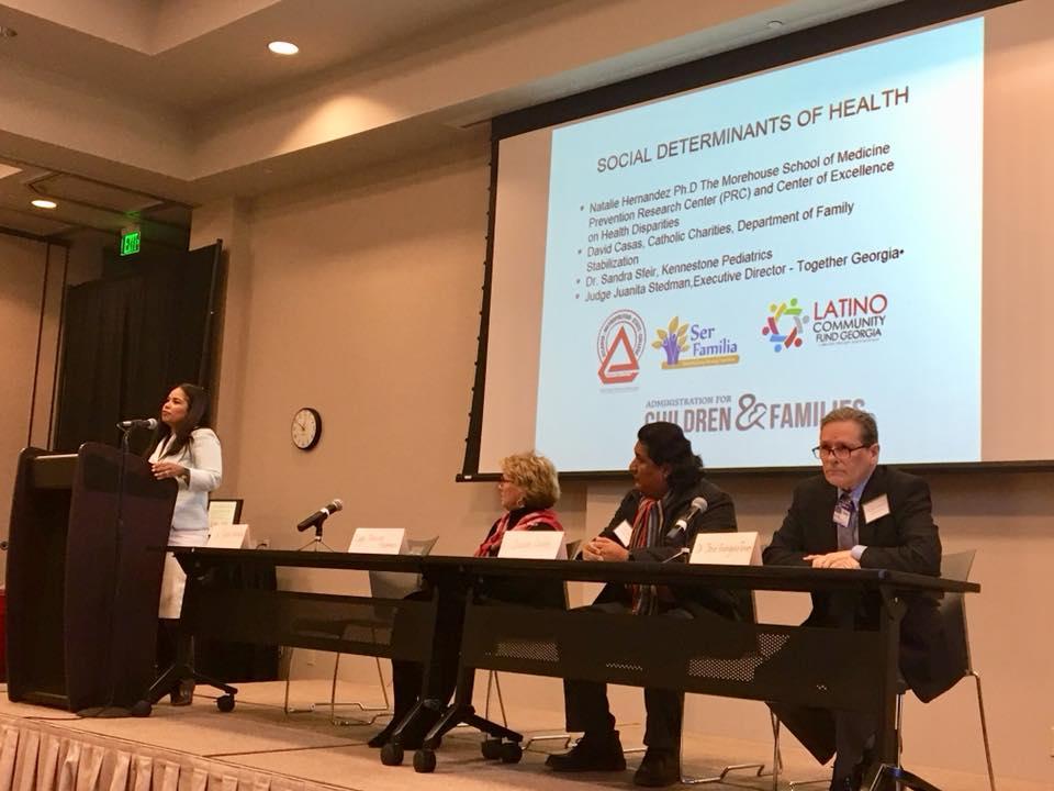 Plenary Panel on Social Determinants of Health