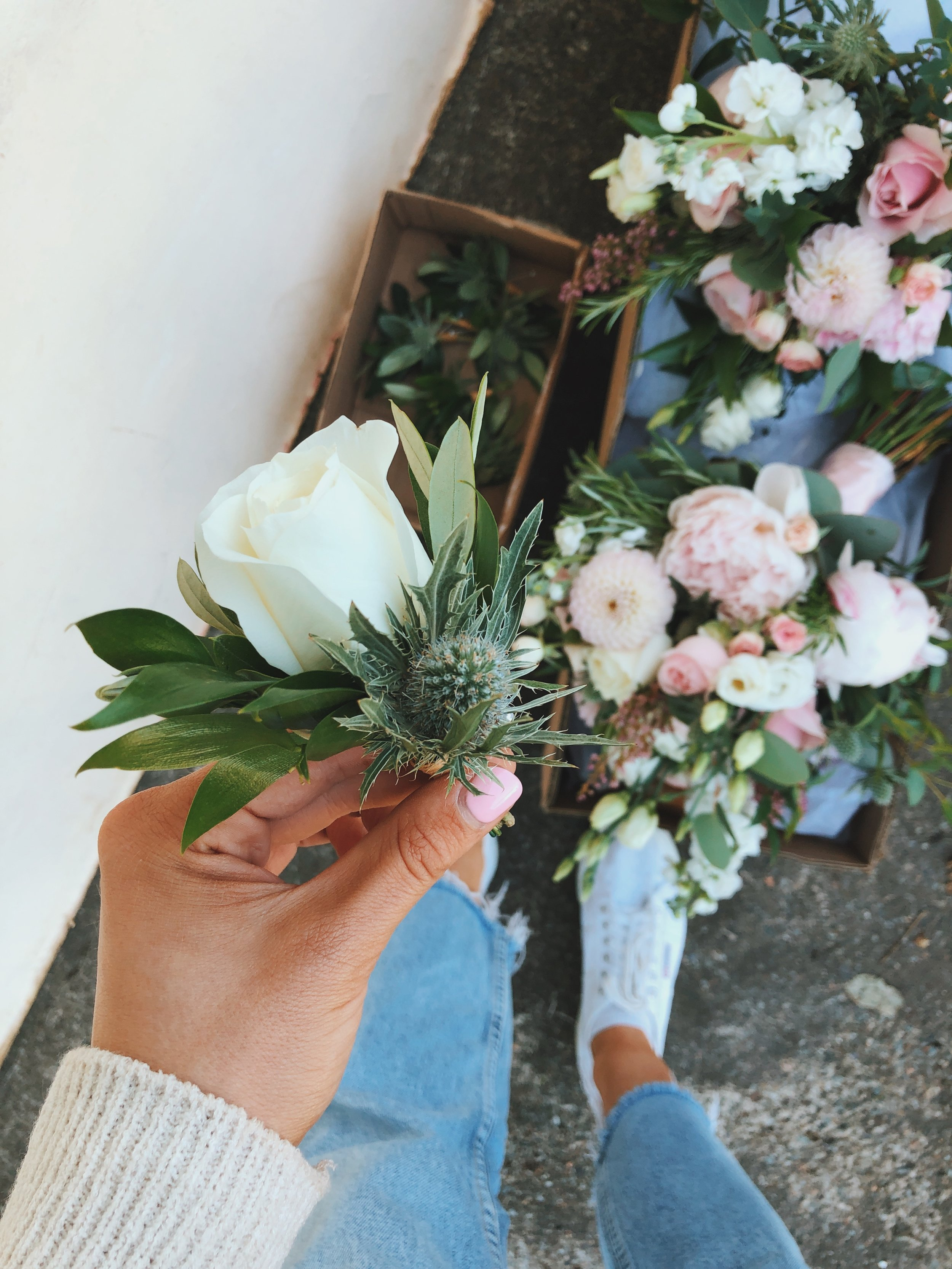 Buttonhole pin on corsage 2.JPG