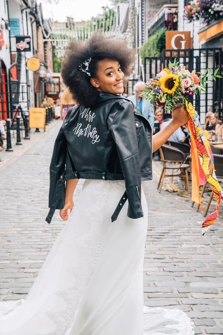 Q: Okay, your jacket. TELL. US. MORE. - A: I got my jacket made by Laila Lettering. Christina is an absolute angel and so amazing as what she does. I still wear it to this day haha any excuse!Shop Laila lettering personalised jackets by clicking here.