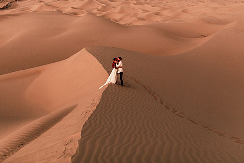 Morocco inspired Elopement -