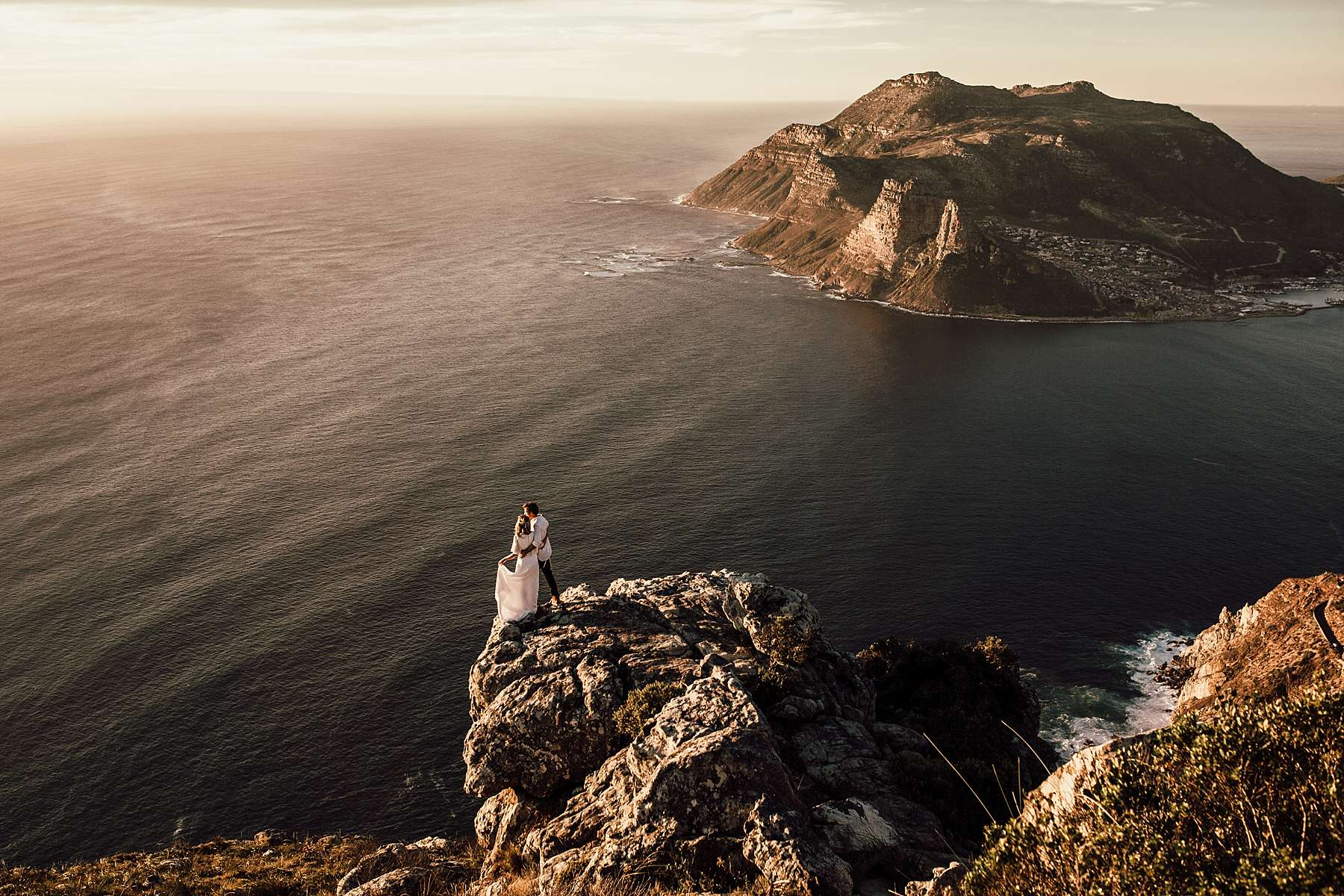 An elopement in Cape Town South Africa