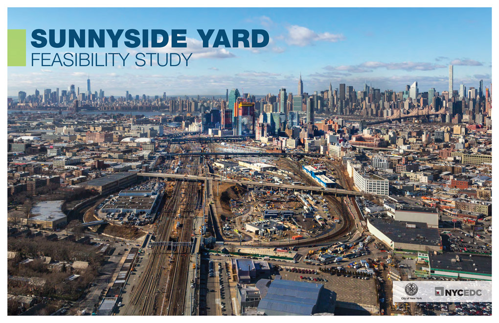 "2017 Feasibility Study  The Sunnyside Yard Feasibility Study, released in February 2017, was the first comprehensive analysis to answer the very specific question of ""is it technically feasible to build a deck over the rail yard?"" The study tested several hypothetical scenarios and identified certain sections of the yard that could have the potential for different types of buildings and others uses, including parks, roads, and open spaces. The master planning process is building from this technical knowledge but taking a fresh look at the site, in close collaboration with the Steering Committee and community stakeholders.   Executive Summary    Full Study    Appendix"