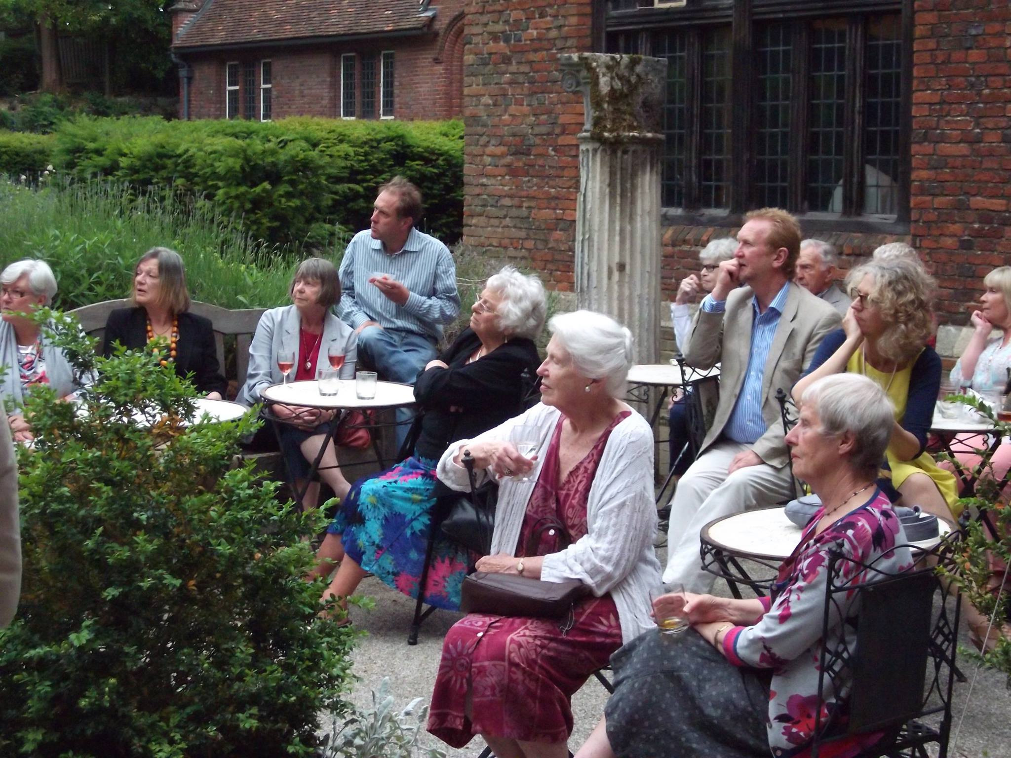 A Talk in the Tudor Garden