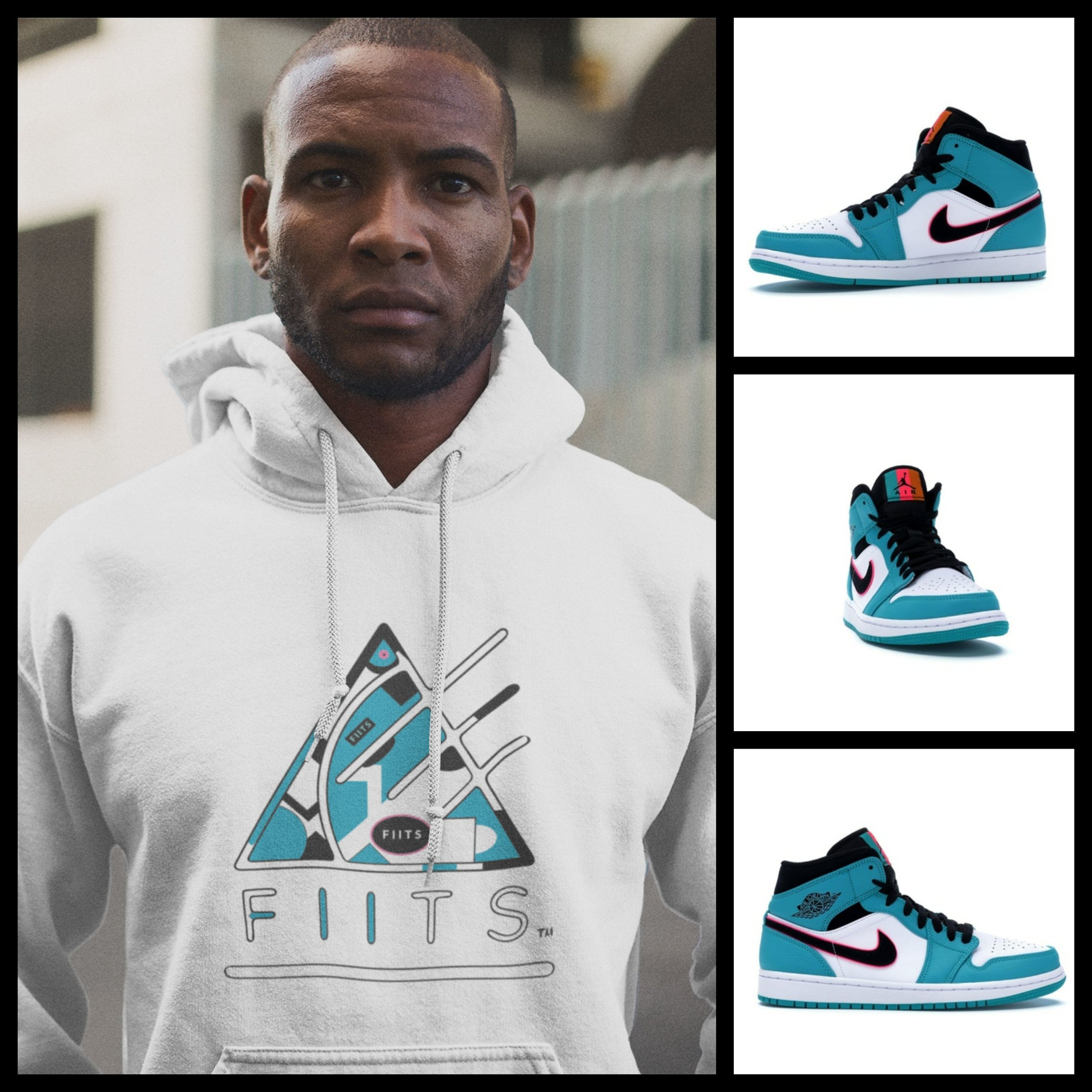 "jordan inspired f i i t. - Air Jordan ""South Beach"" 1s F I I T."