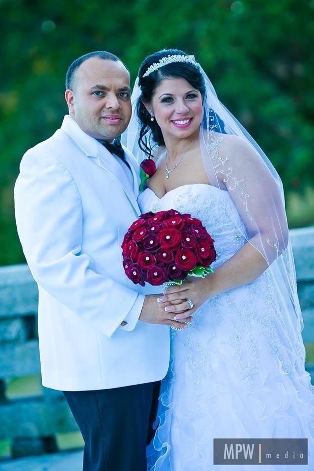Lisa's Wedding Day. Shot by MPW Media.