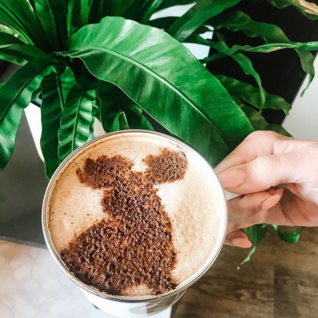 Nothing like a little coffee art to get the creative juices flowing! Enjoy the week! #goshencoffee #mondaymotivation #edwardsvilleillinois #coworking