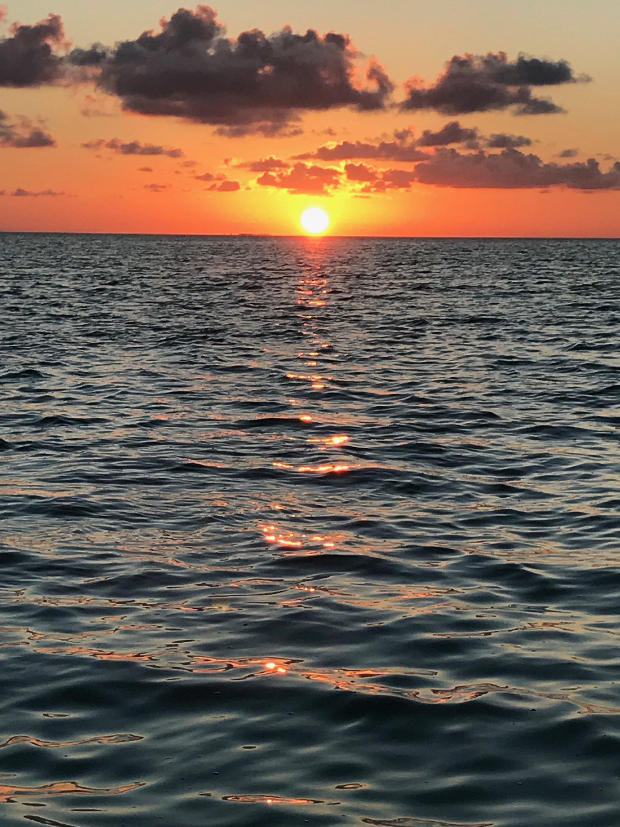 Bacalar Chico Sunset