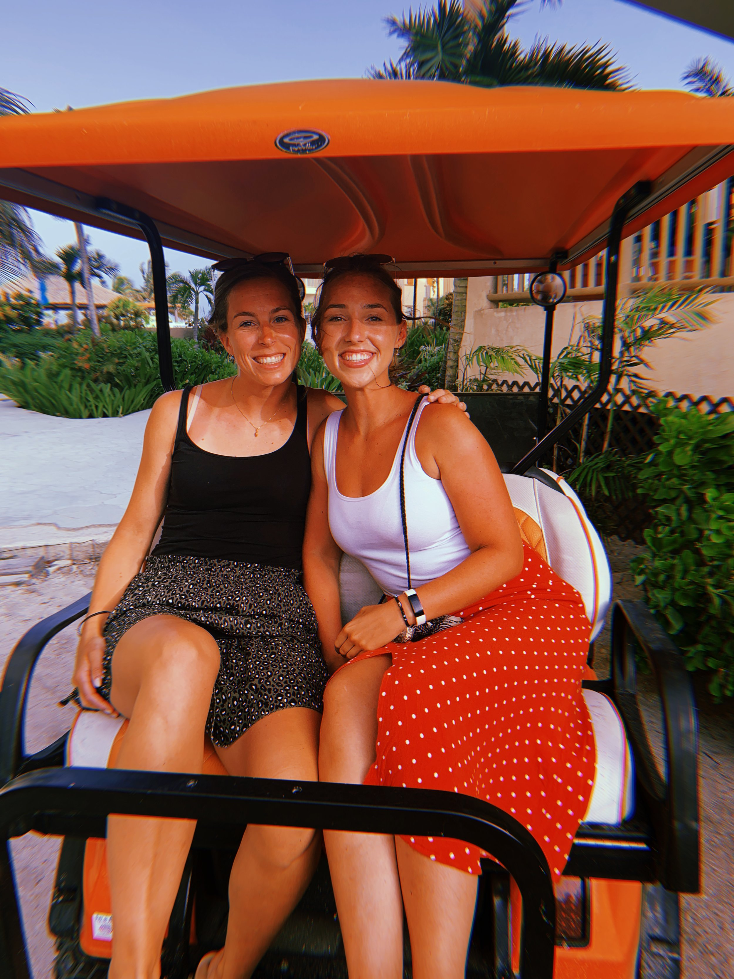 Hop aboard your very own golf cart