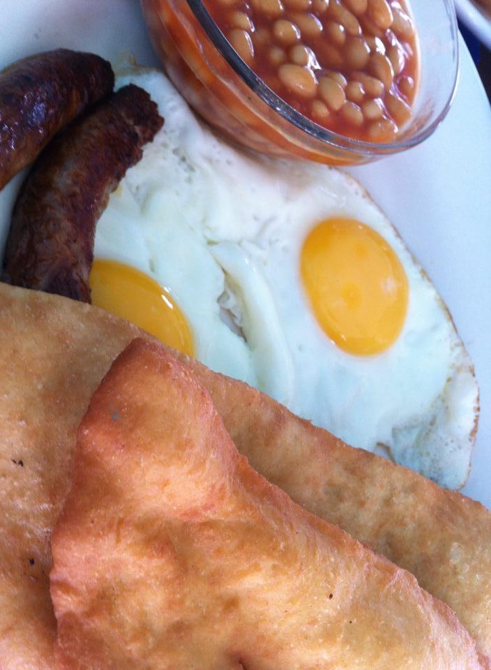 Belizean Breakfast famous Fry Jacks