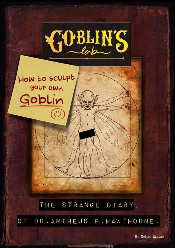 Book Review - How to sculpt your own Goblin: by Moisés Espino – E-book