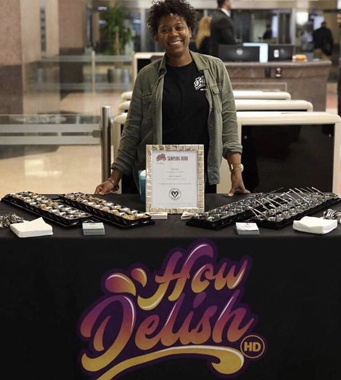 Laiquan Harvey-Davis Founder of   How Delish HD