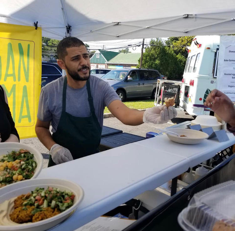 Chef Asaf Gahali , Founder of The Vegan Shawarma