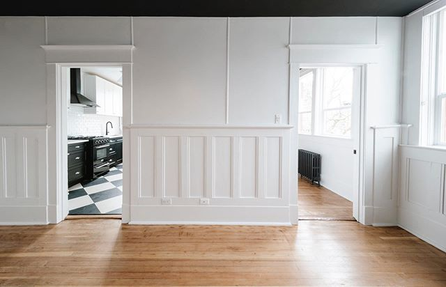 A home rich in character. For more information on the Bell Apartments, please visit our website (link in profile)! . . . . . . . . #bellapts #historic #renovation #gmcprojects #interiors #freshpaint #cookst #yyjhousing #yyjapartment #yyjdevelopment #victoriabc #familybusiness  #naturallight #hardwood #character #apartment #apartmentliving #doors #finishes #interiordesign #livelightly