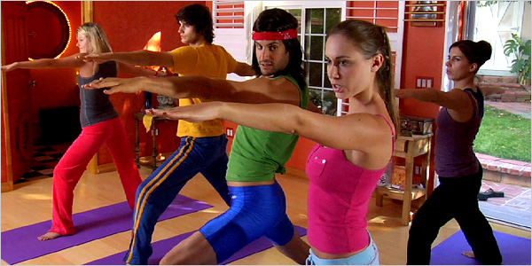 "STRETCH AND FLIRT  Many women are familiar with the seedy character in the ""Inappropriate Yoga Guy"" video, above."
