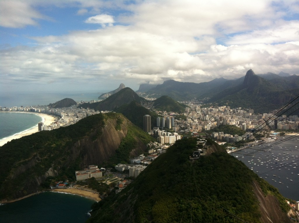 View of Rio from Sugarloaf