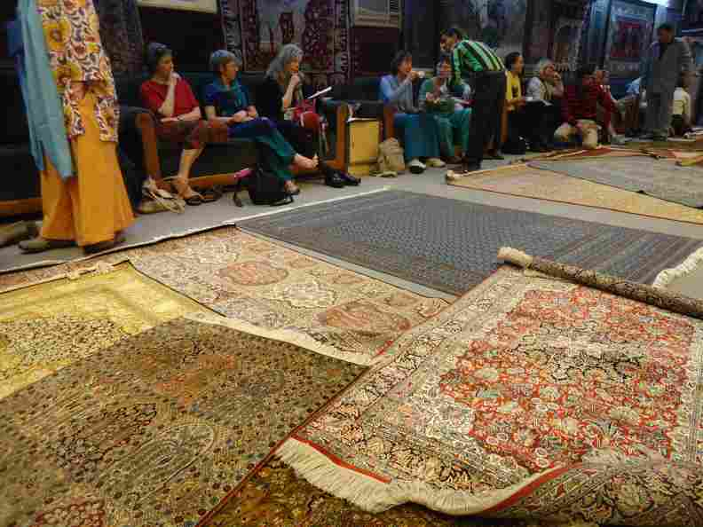 Hand-knotted carpets