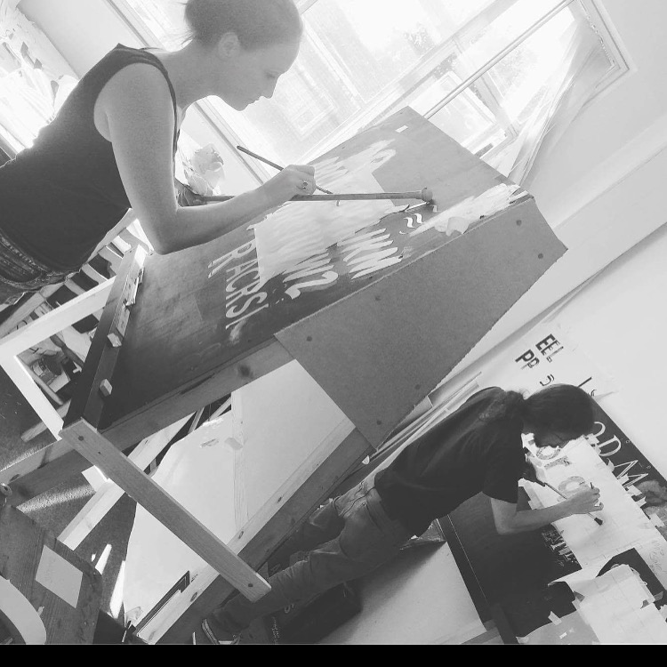- My path to becoming a professional signwriter properly began in Nick's weekender class in Sydenham. I had a job booked to do a fascia and was relying on my Art Degree to paint it. Thankfully I booked a class at NGS and Nick showed me everything i needed to know so that the job would run smoothly.