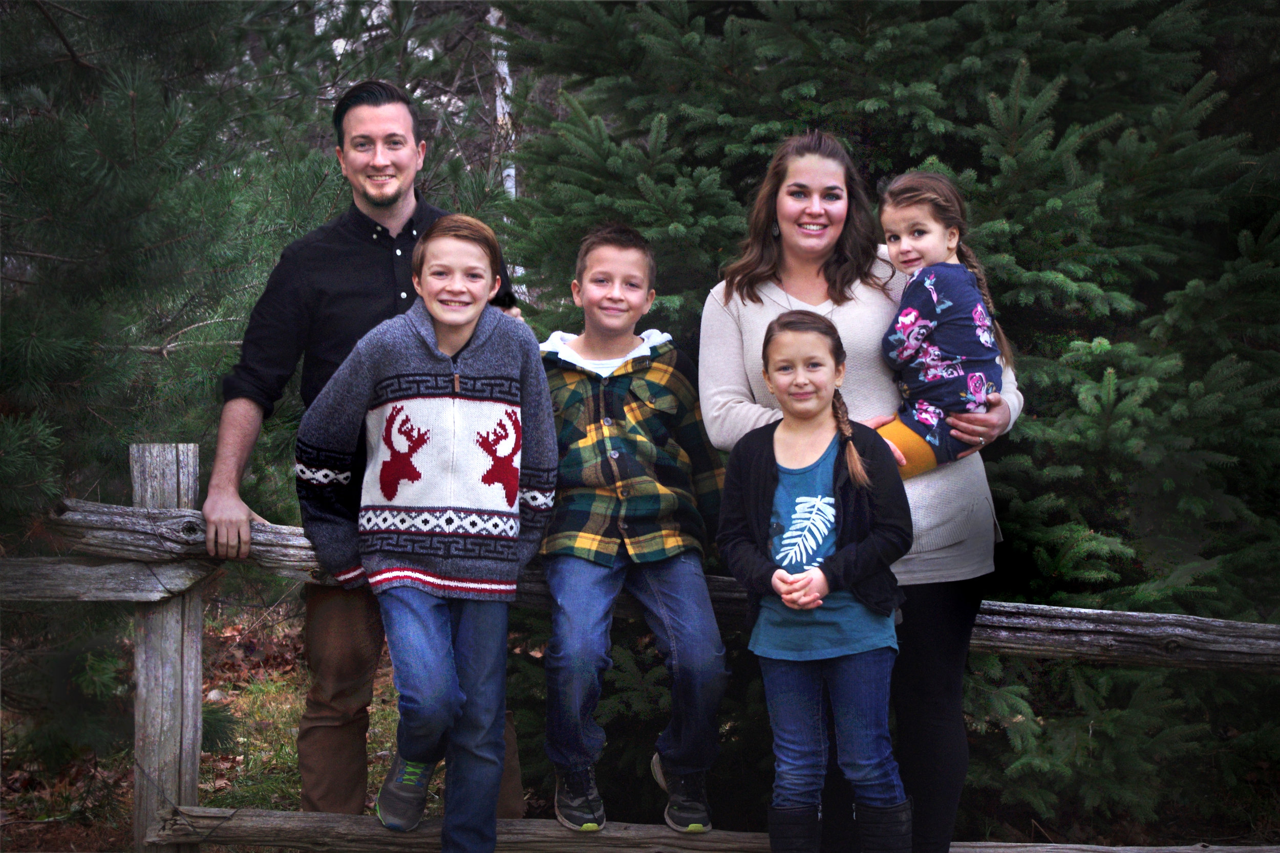 The Symonds family.
