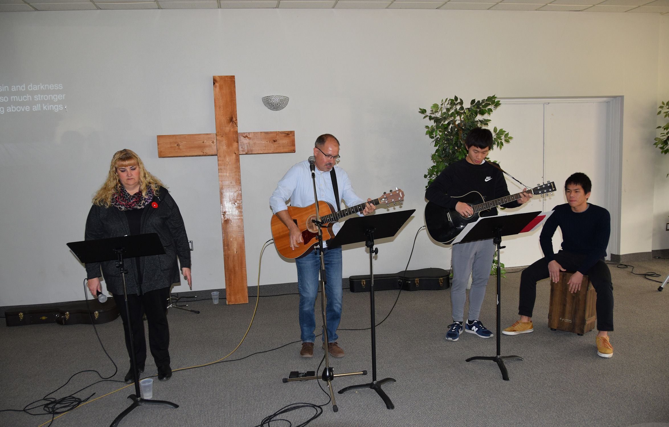 On Sundays, LifeHouse meets for worship in a local golf club.