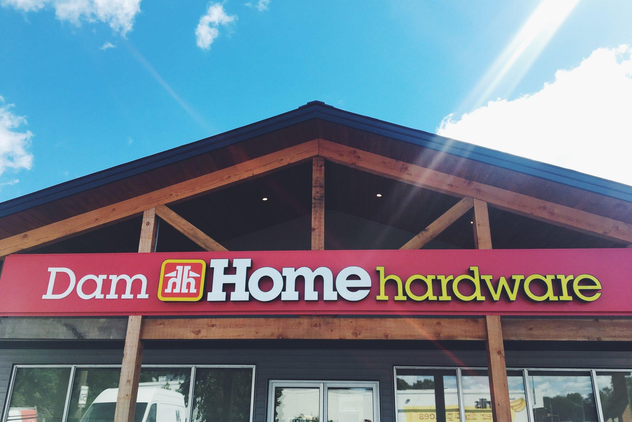 Dam Home Hardware opened in September 2018.