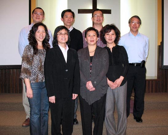 Pastor Clifford Li (second from the left in the back row) is currently lead pastor of Hakka Alliance Church and has been part of their journey since the beginning.