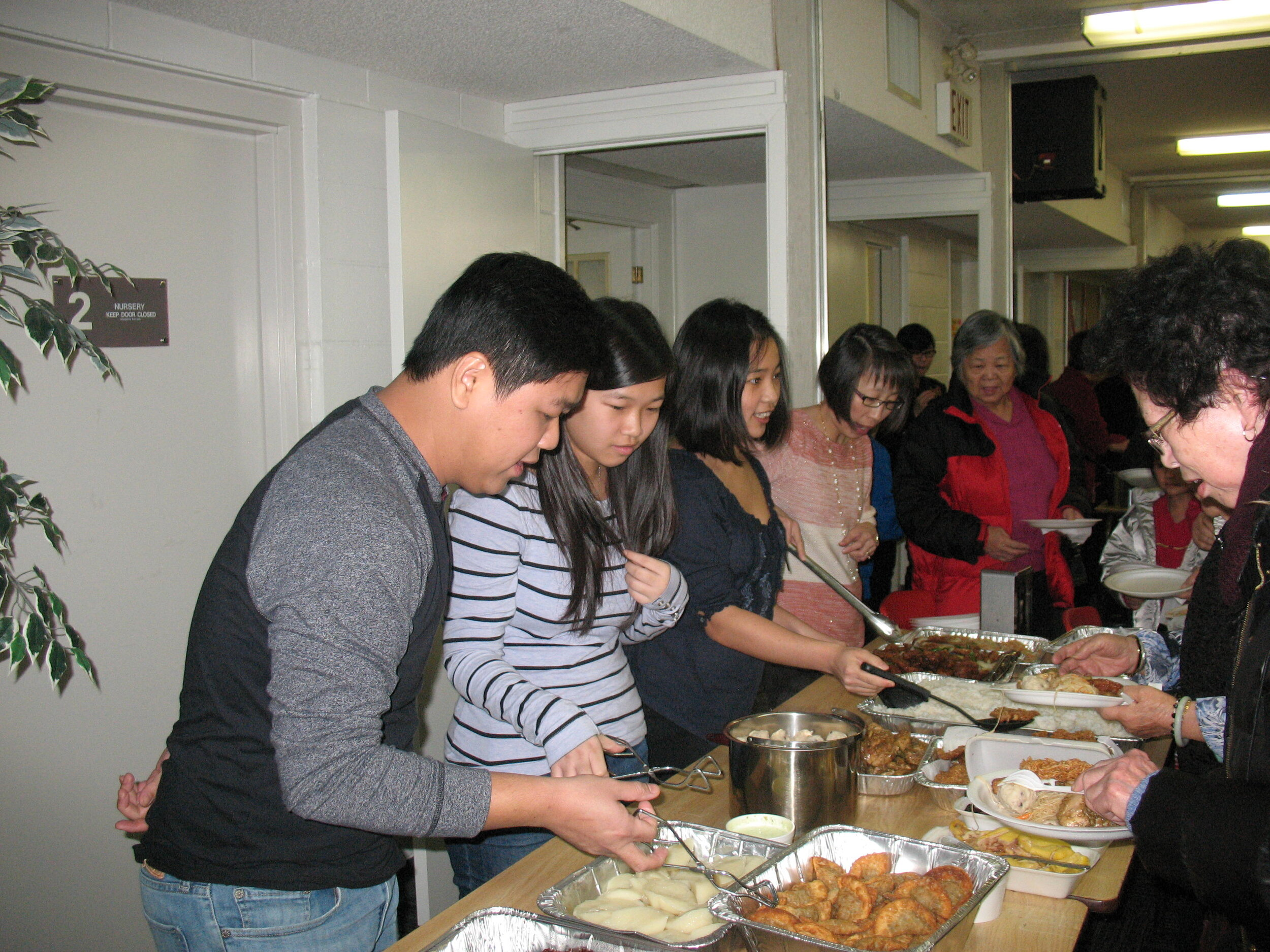 Eating together is one of the best ways to be the church, and Hakka Alliance knows this well!