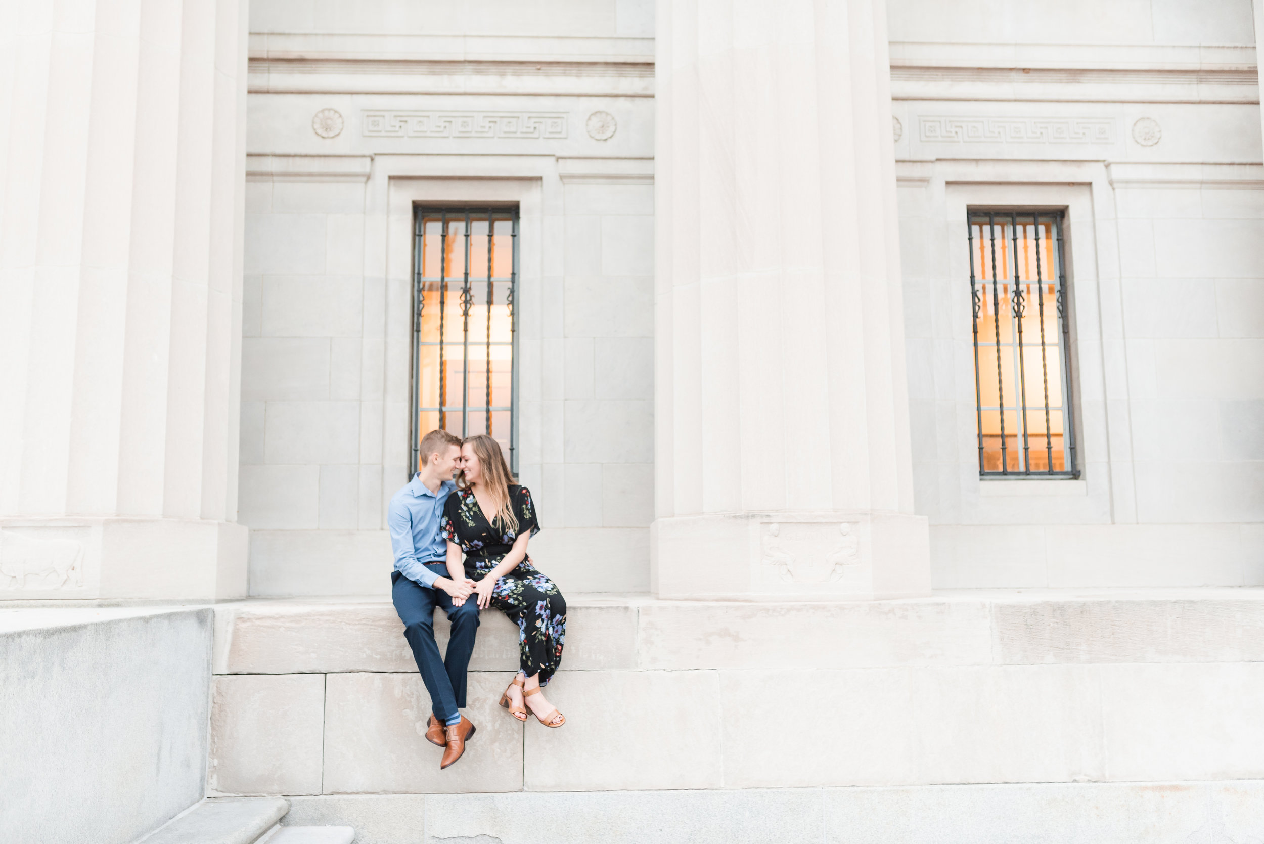 Best Engagement Session Locations In Indianapolis Central Library
